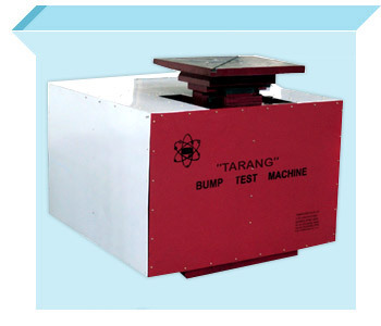 Force Impact Type Bump Test Machine