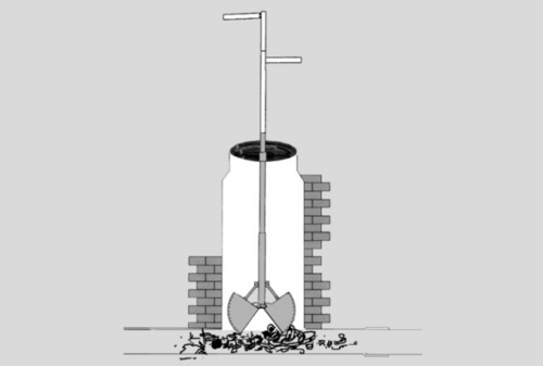 Non-Motorised Manhole De-Silting Machine