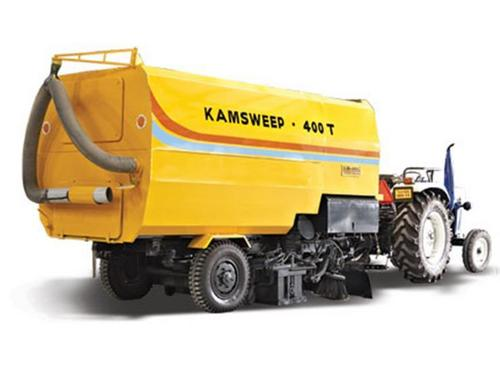 Tractor Towed Self Contained Vacuum Sweeper