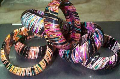 Ladies Multicolor Bangles