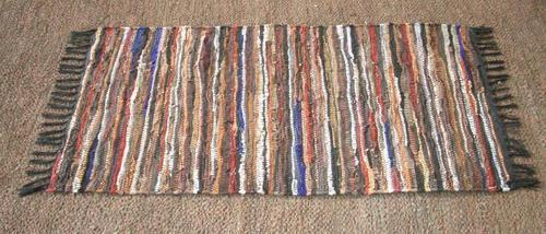 Multicolor Leather Floor Rugs