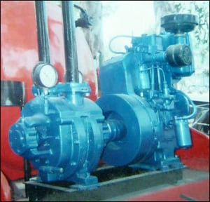 Water Ring Vacuum Pumps For Drainage Application