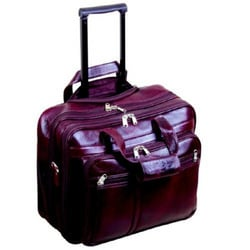 Designer Leather Strolley Bags