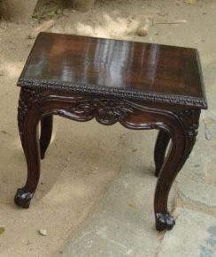Teak Wood Side Tables In Chennai Tamil Nadu Indika Creations