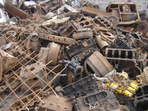 Shredded Ferrous Metal Scraps