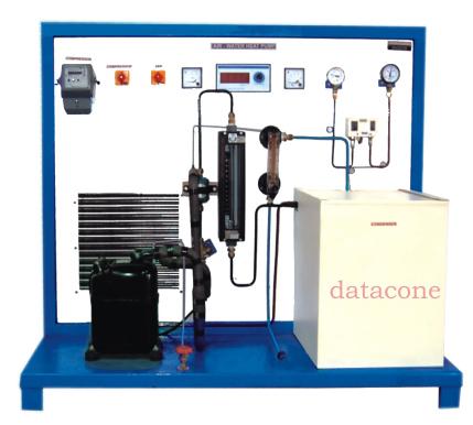 Air-Water Heat Pump Test Rig
