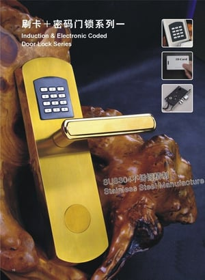 Induction And Electronic Coded Door Locks