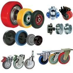 Fixed And Swivel Casters