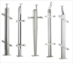 Stainless Steel Baluster Handrail Posts