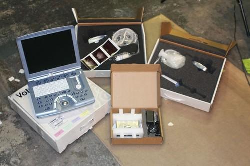 GE Voluson I Portable Ultrasound Machine OB Vasc 3D/4D