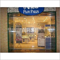 Latest Polycarbonate Rolling Shutter