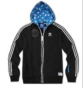 Adida Men's Ot Hooded Flock Sweatshirt O17852 Jackets