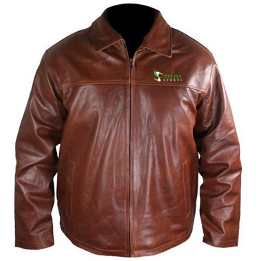 Brown Color Leather Jackets