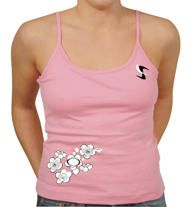 Flower Print Ladies Tops