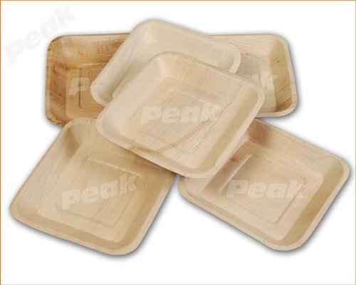 Square Shape Palm Leaf Disposable Plates in Rang&alayam & Square Shape Palm Leaf Disposable Plates in Erode Tamil Nadu - PEAK ...