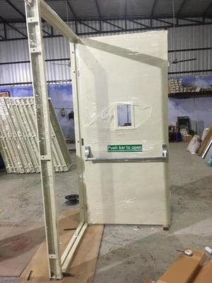 Fully Insulated Composite Wooden Fire Doors
