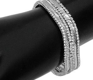 Ethnic Design Silver Bangles