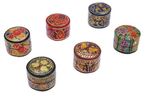 Papier Mache Ring Box