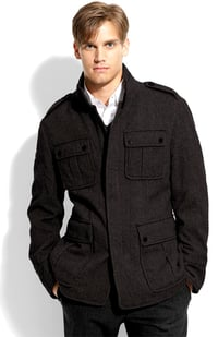 Colbar Virgin Wool Jacket