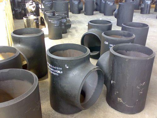 Carbon Steel Equal Tee Straight Tees