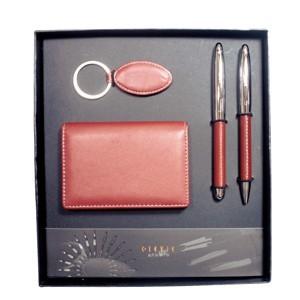 Designer Leather Gift Set