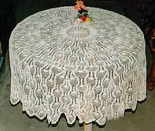 Crochet Round Table Cloths