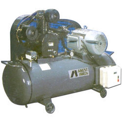 Air Cooled Lubricated Air Compressor
