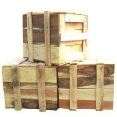 Hard Wood Box For Domestic Packing