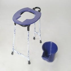 Commode Stool With Pan