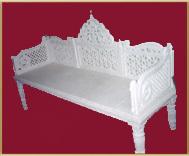 White Marble Chair
