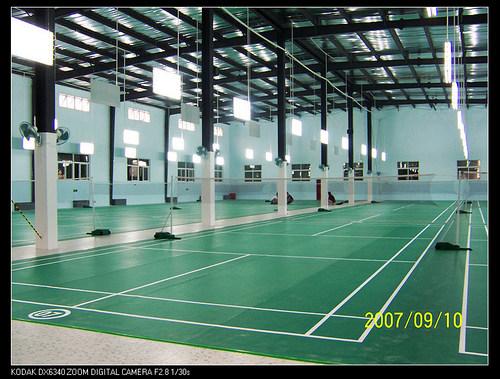 Badminton Court Sports Flooring
