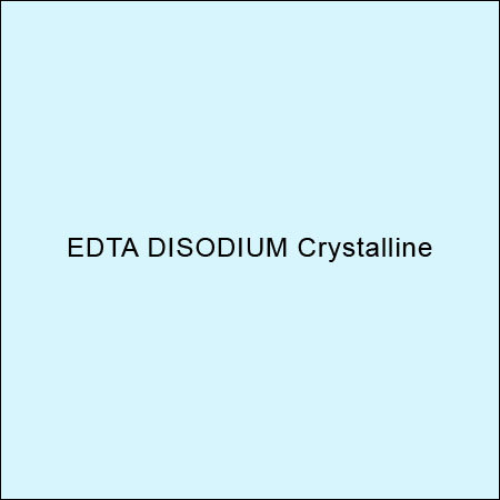 Edta Disodium Crystalline