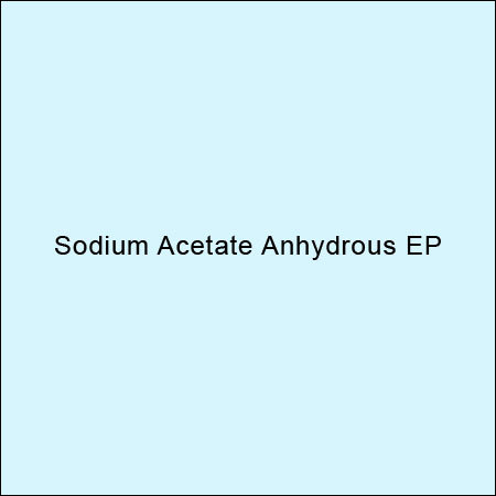 Sodium Acetate Anhydrous Ep