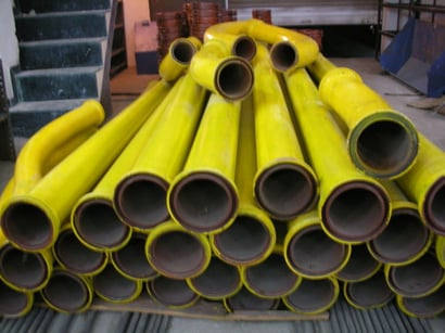 Concrete Delivery Pipes