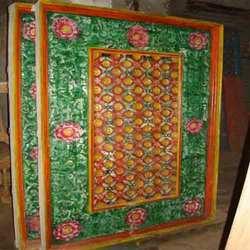 Wooden Ceiling In Ahmedabad Gujarat India Gajjar Handicrafts