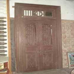 Wooden Door In Ahmedabad Gujarat India Gajjar Handicrafts