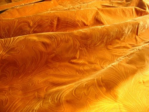 Leather Touch Flock Fabrics