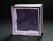 Rider Glass - Violet Glass Brick