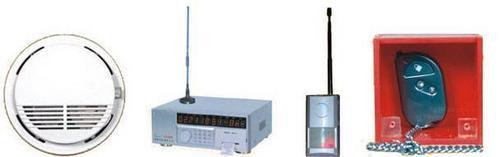Wireless Smoke Detectors/ Manual Systems