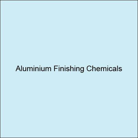 Aluminium Finishing Chemicals