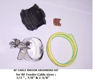 RF Cable Indoor Grounding Kit