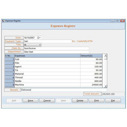 Web Accounting/ Inventory Software