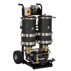 Portable Oil Filter With Two Housing