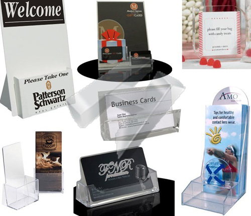 Acrylic Display Brochure Holders
