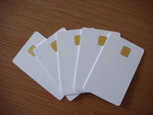 High Quality Blank Plastic Cards