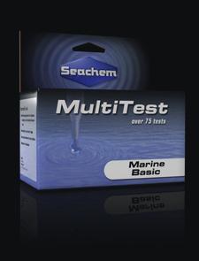 Seachem Marin Basic Multi Test Kit