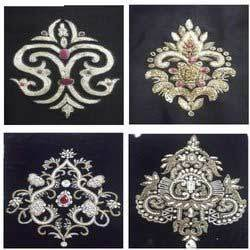 Motif Work Embroideries