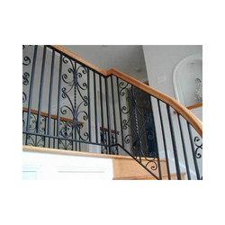 wrought iron staircase railings s k steel fabricators, plot no 26 Wall Iron Railings wrought iron staircase railings s k steel fabricators, plot no 26, sector 4, guru gian vihar, jawaddi,, ludhiana, india