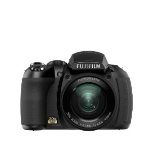 FinePix HS10 10 MP CMOS Digital Camera with 30x Wide Angle Optical Zoom and 3-Inch LCD