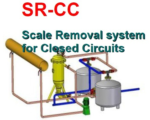 Scale Remover For Closed-Loop System
